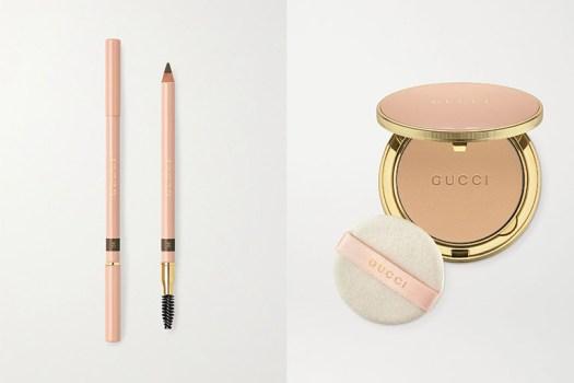 Gucci Beauty Powder Eyebrow Pencil ($40) and Poudre de Beauté Powder ($81). Available at Net-A-Porter.