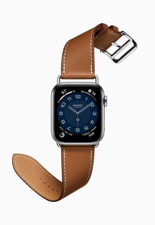 Apple Watch Series 6 Hermès Stainless Steel Silver Single Tour