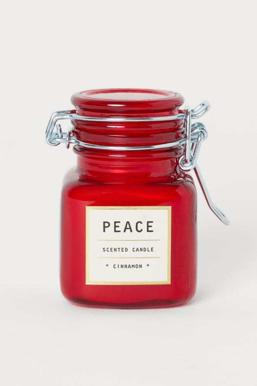 Scented Cinnamon Candle (S$4.95)