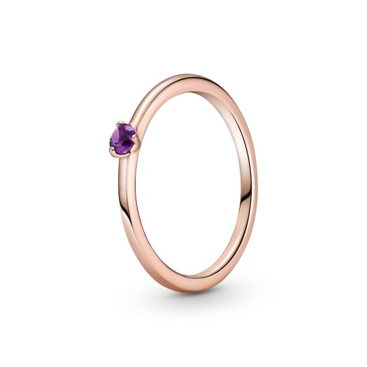 Purple Solitaire Ring ($69)
