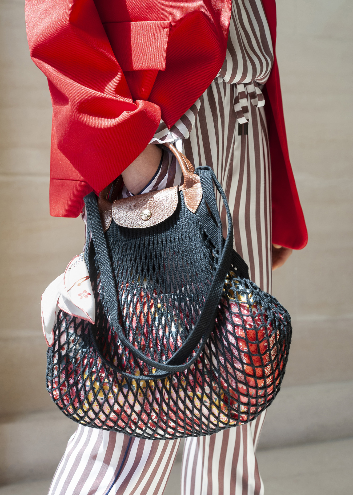 Longchamp and Filt come together for a string shopping bag with ...