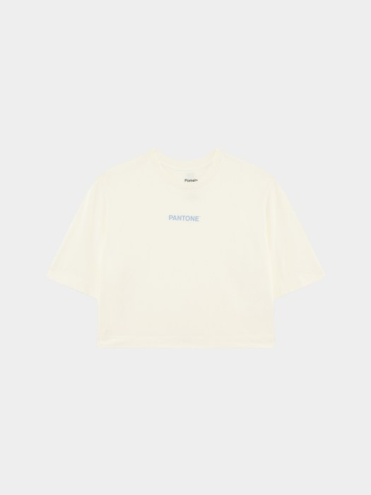 Sustainable Cropped Tee - Cream ($24.90)