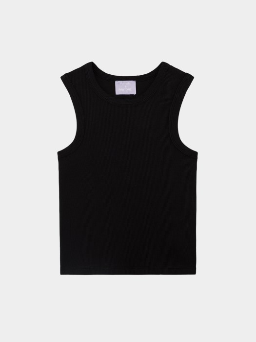 Sustainable Fitted Tank Top - Black ($24.90)