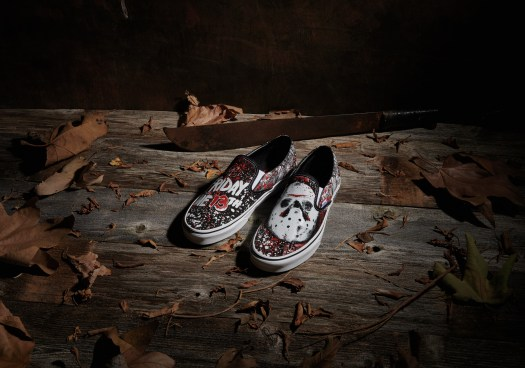 Vans x Friday The 13th Classic Slip-On, $99