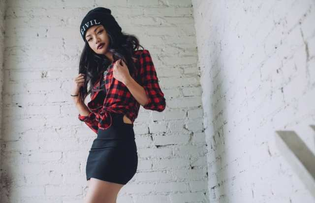 red plaid flannel lyfestyle (2)