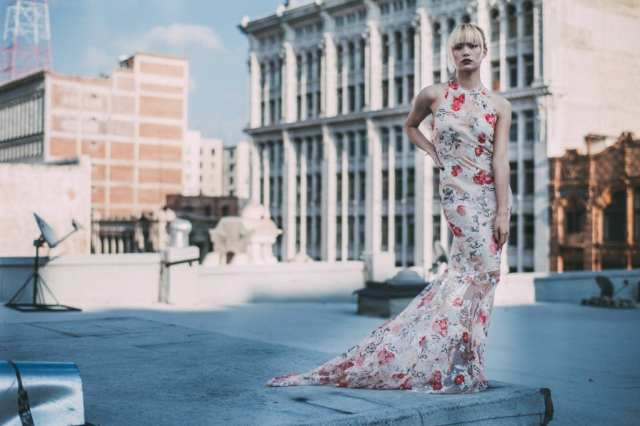Rochelle Carino Goddess Gown
