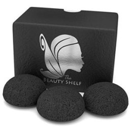 Best Charcoal Konjac Sponge for Acne - The Beauty Shelf