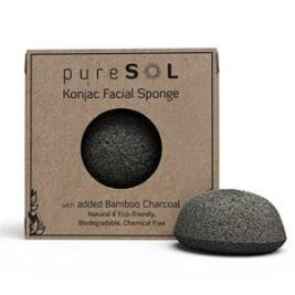 Best Charcoal Konjac Sponge for Acne - pureSOL