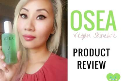 OSEA Vegan Skincare Review