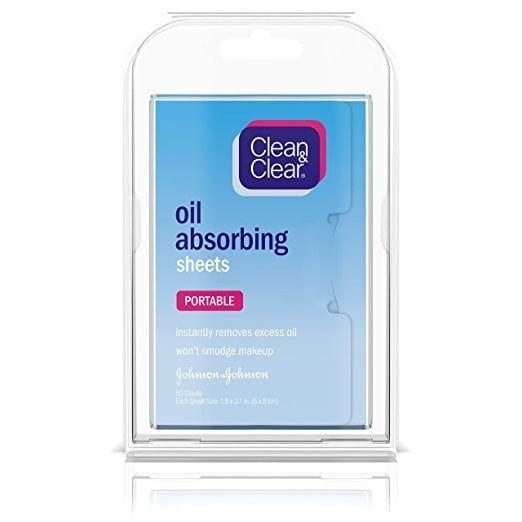 awesome travel beauty products - Clean & Clear oil removing sheets