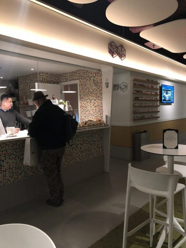 1 yotel new york at times square west reviews - Cafe