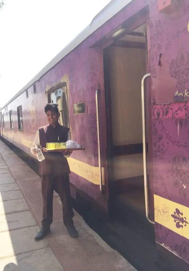 Golden Chariot Amazing Luxury Train Journey Butler