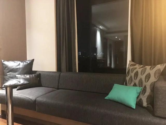 Welcom Hotel ITC Hotel bengaluru - couch