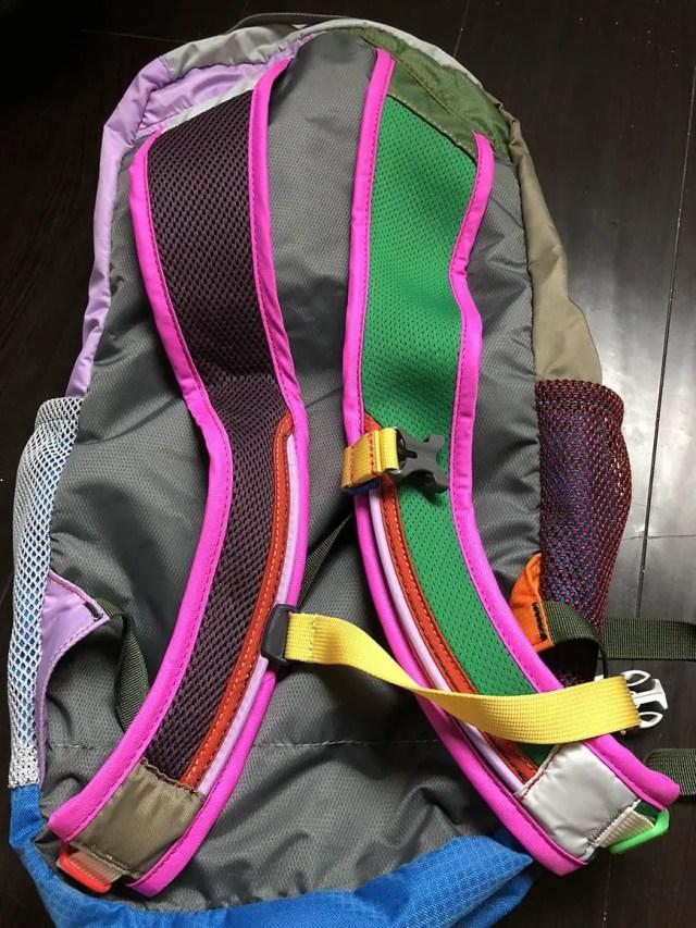 best carry on daypack for international travel for women - back