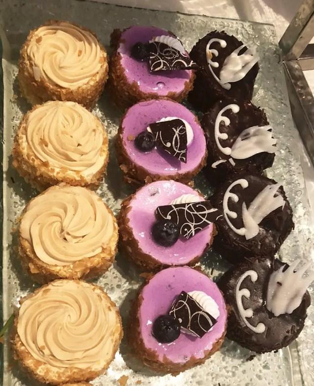 Luxe Sunset Boulevard Hotel - Easter Brunch Buffet - Cupcakes