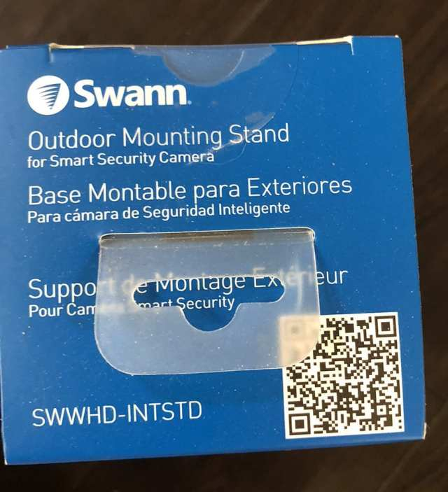 Swann Smart Security Camera Wireless 1080 Mounting Stand Top