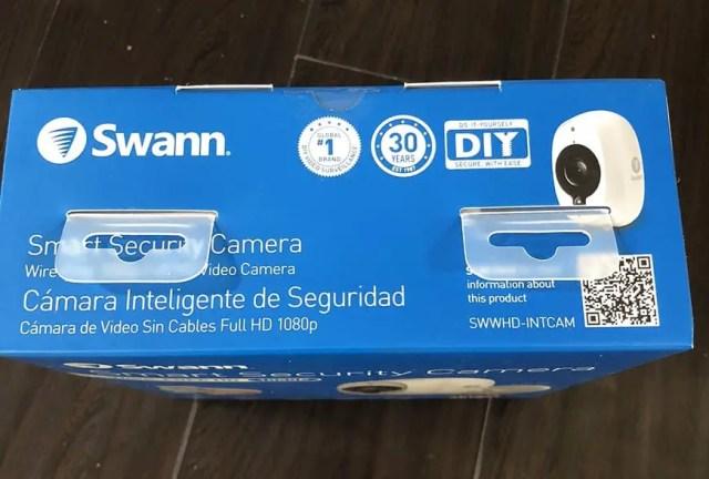 Swann Smart Security Camera Wireless 1080 Packaging Top