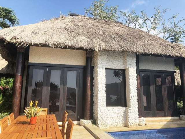 3 BEDROOM LUXURY VILLA IN FIJI WITH PRIVATE POOL - living room