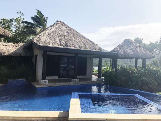 3 BEDROOM LUXURY VILLA IN FIJI WITH PRIVATE POOL - master view