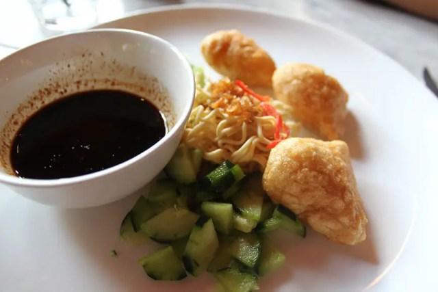 1 bali culinary street food tour seminyak - fish cake