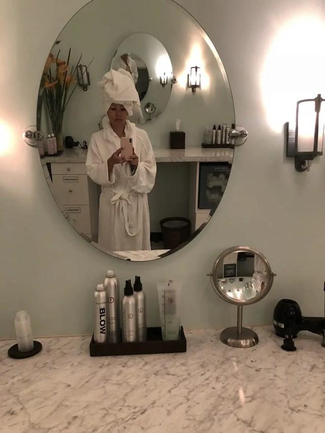 Burke Williams - clothing optional spa los angeles - beauty room