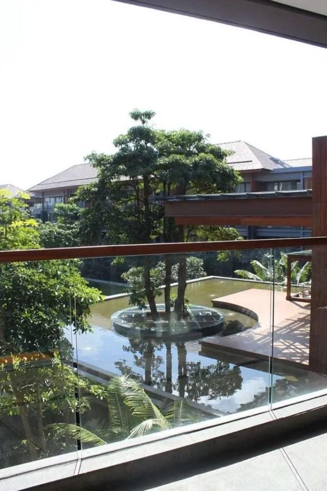 hotel indigo bali seminyak beach - balconey view