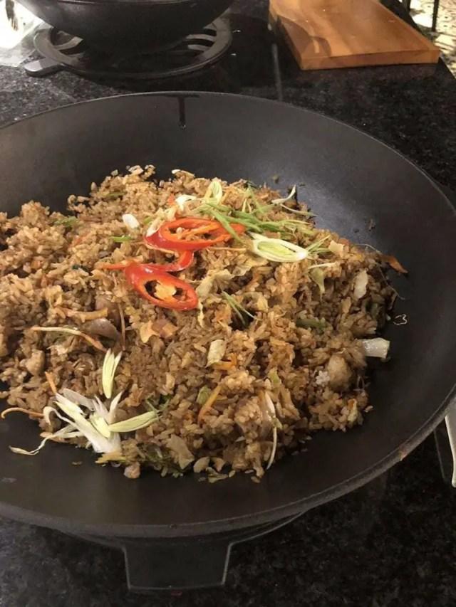 hotel indigo bali seminyak beach - buffet nasi goreng