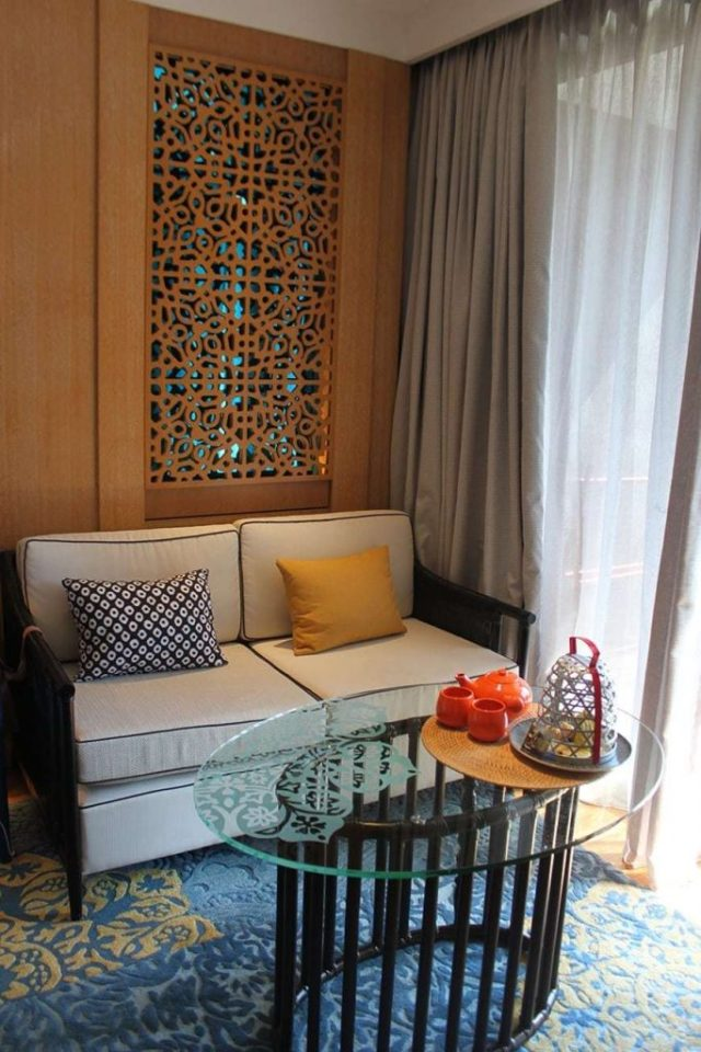 hotel indigo bali seminyak beach - living room