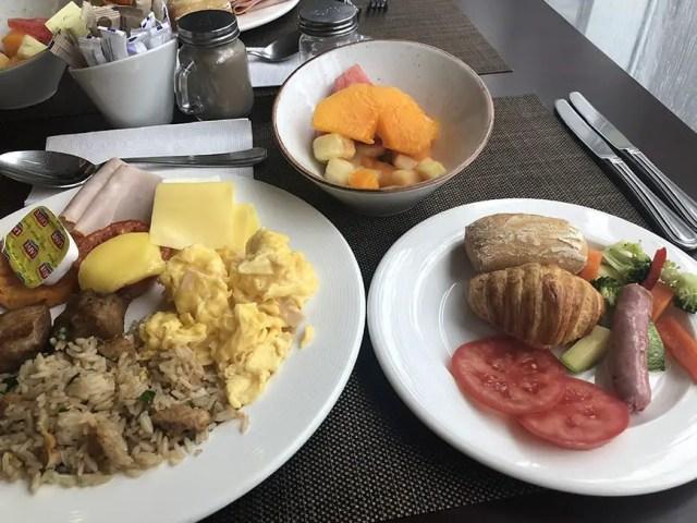Novotel hotel san isidro lima Peru - breakfast buffet