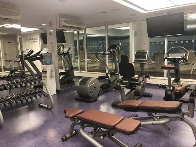 Novotel hotel san isidro lima Peru - gym 2
