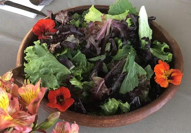 el albergue ollantaytambo - pachamanca salad