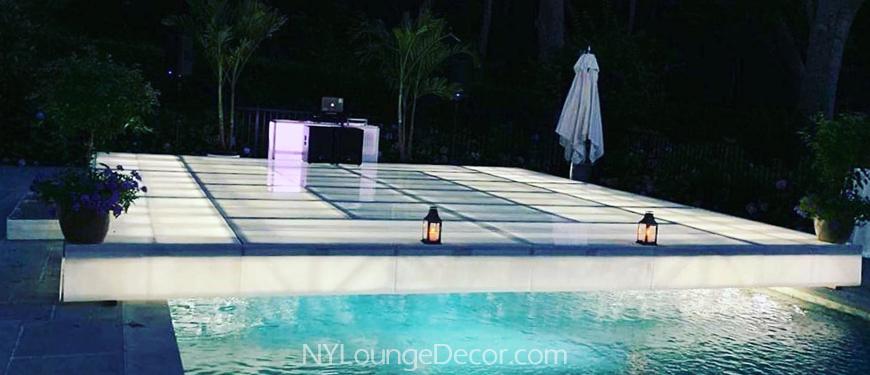 Dance Floor Over Pool Ny Lounge Decor
