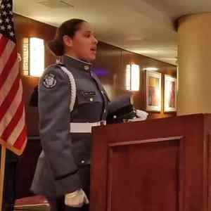 Cadets at SCIP Banquet