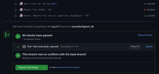 Successful tests