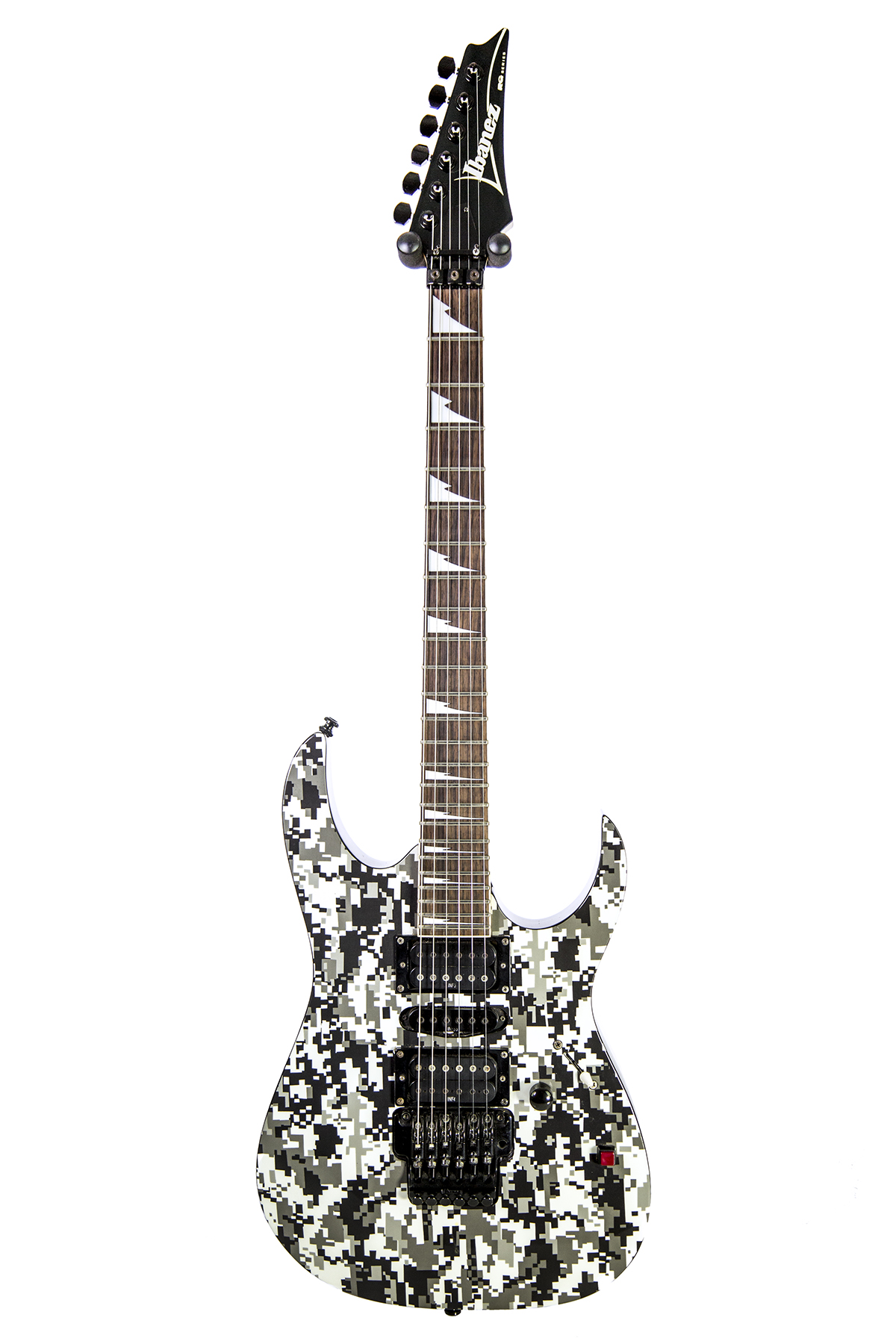 Used Ibanez Rg370dxgp3 Graphic Print Series Digital Camo