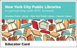 NYPL Educator Card