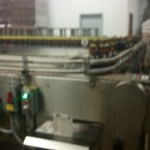 The Sprecher Bottling Line moving their cream soda through.