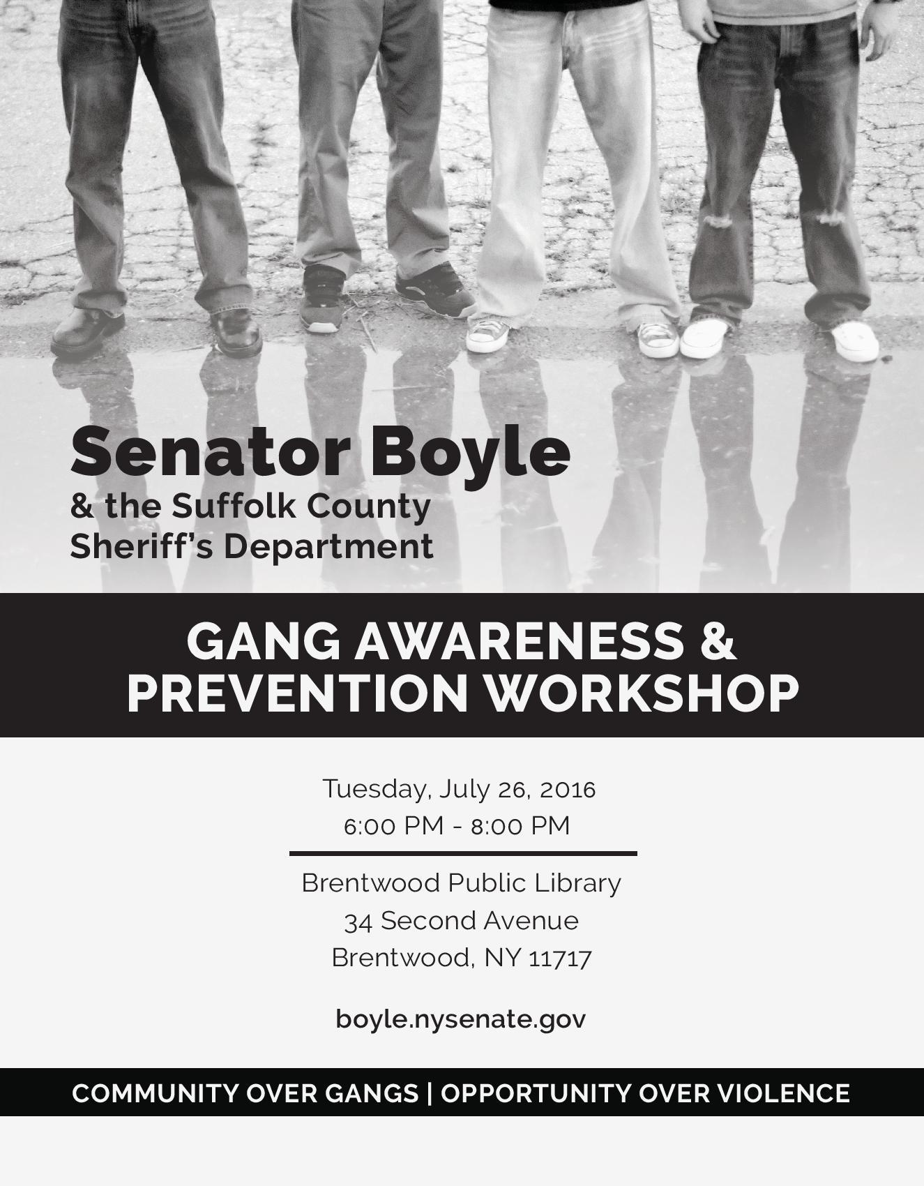Gang Awareness And Prevention Seminar