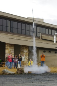 YSDE Students participate in a seminar on rockets.