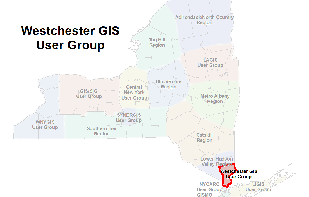 eSpatiallyNewYork 2019 Westchester GIS User Group Meeting