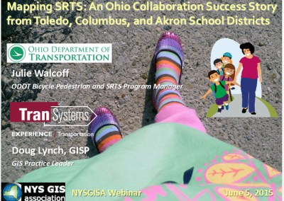 Mapping SRTS: An Ohio Collaboration Success Story from Toledo, Columbus, and Akron School Districts