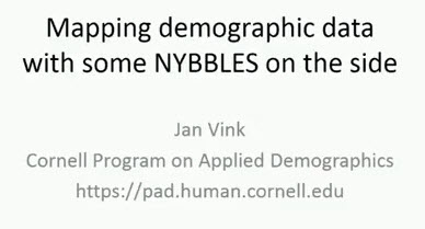 Mapping Demographics Data with Some NYBBLES as a Side
