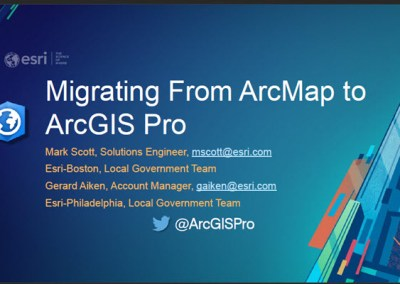 Migrating from ArcMap to ArcPro