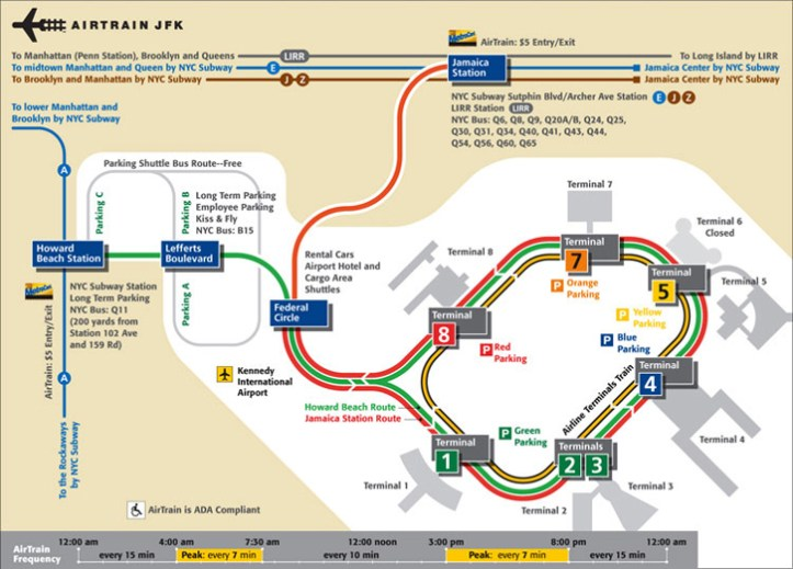Image result for getting to jfk from manhattan E train