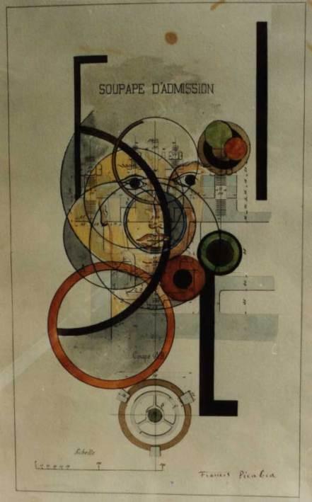 Frances Picabia. Induction Valve (Soupape d'admission) - 1917