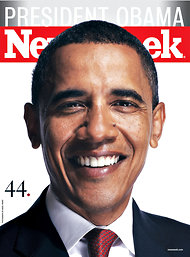 Newsweek's election issue in 2008, containing the yearlong story of the Obama campaign.