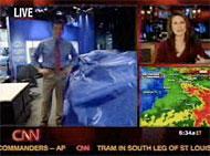 CNN goes apeshit after tornado hits Atlanta