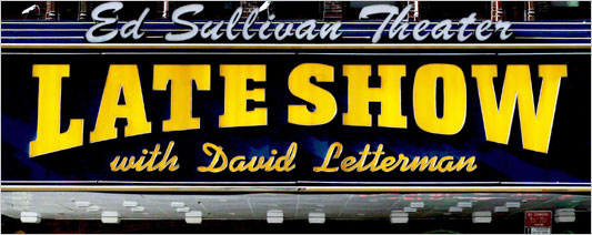 DSRP Bass Instructor Chuck Bartels to perform on the Late Show with David Letterman Wednesday June 23rd