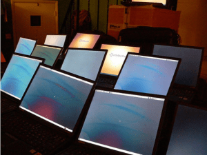 Laptops Readied for Nyumbani