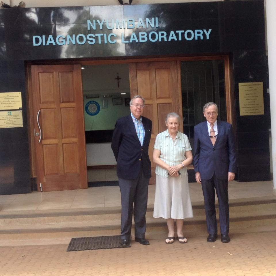 Deans from Columbia University Dental School Visit Nyumbani
